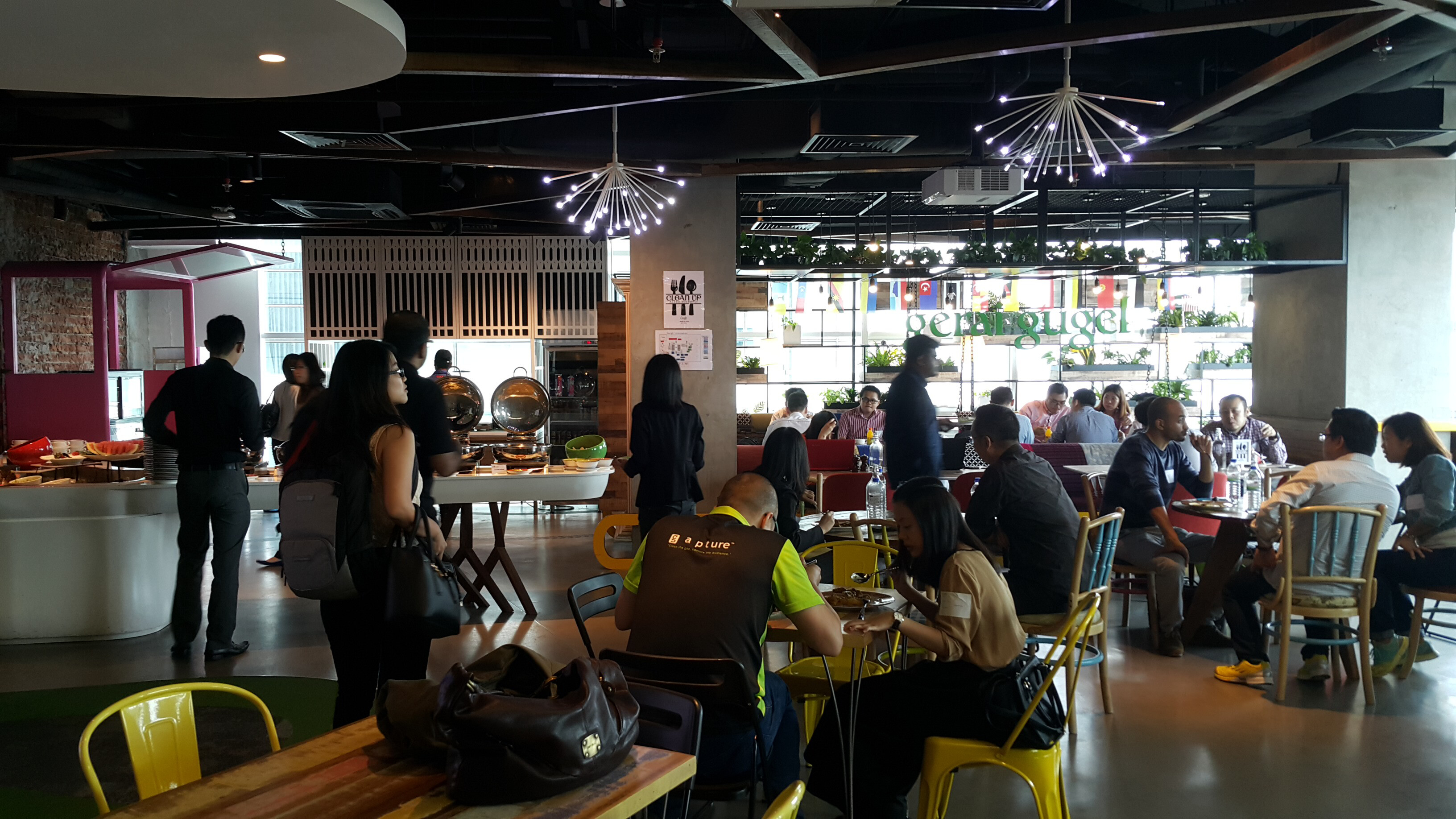First time visit to Google Office Malaysia - Let's Roll