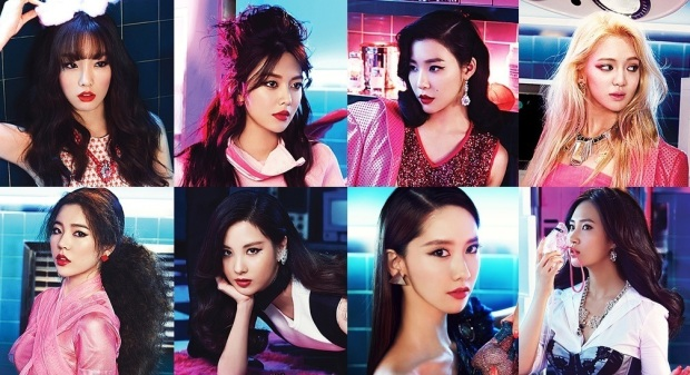 The popular Girls Generation