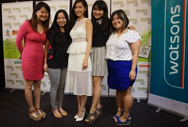 Me, Wendy, Miriam & Jess together with Nancy Wu