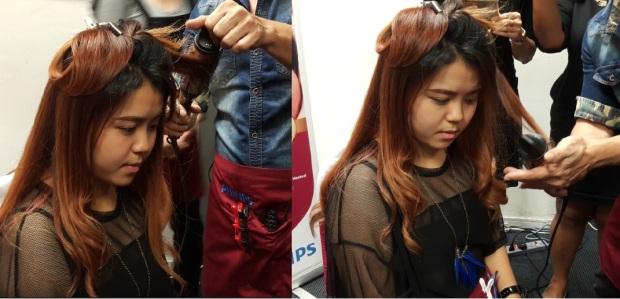 Hair demostration