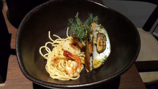 Spaghetti Aglio Olio Seafood