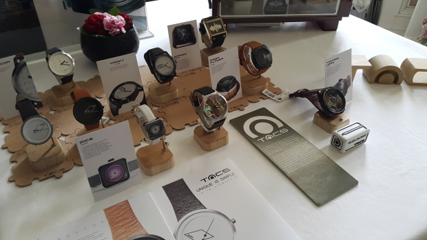 The simplicity of TACS timepieces are proudly on display (1)